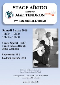 Alain Tendron Grenoble - 5 mars 2016
